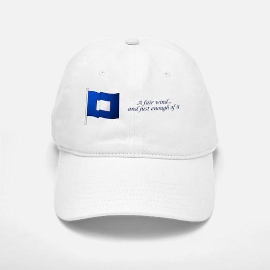 bluepeter[10x3_sticker] Baseball Baseball Cap