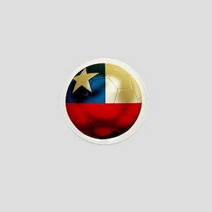 Chile Football Mini Button