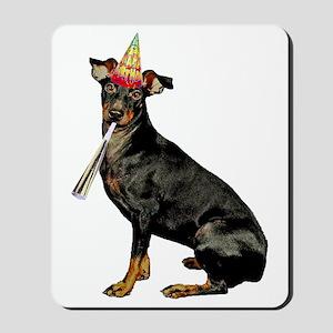 FIN-manchester-terrier-birthday Mousepad