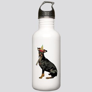 FIN-manchester-terrier Stainless Water Bottle 1.0L