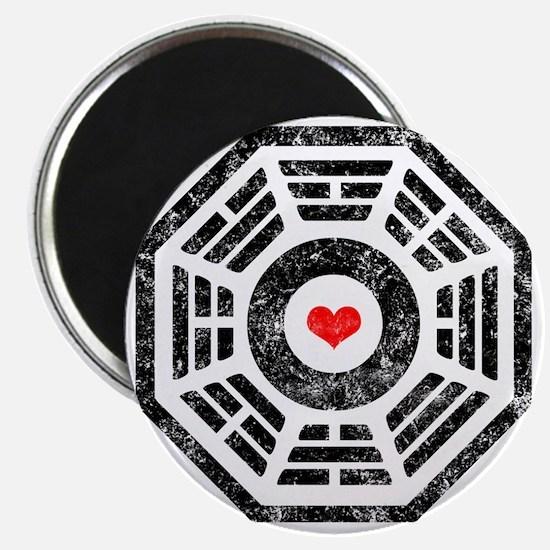 Dharma Heart Magnet