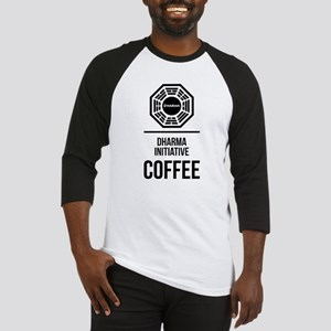 Lost Dharma Initiative Coffee Baseball Tee