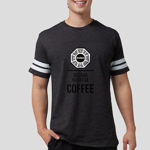 Lost Dharma Initiative Coffee Mens Football Shirt