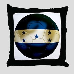 Honduras Football Throw Pillow