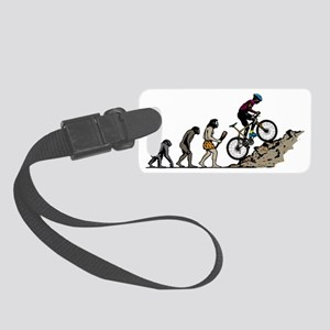 Mountain Biker Small Luggage Tag