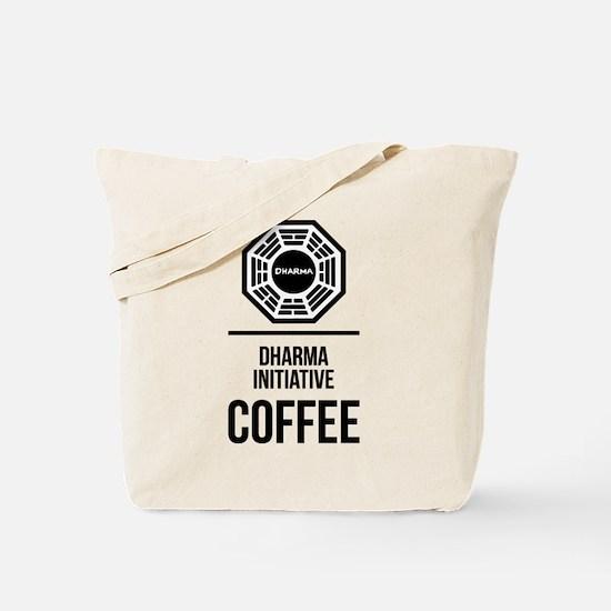 Lost Dharma Initiative Coffee Tote Bag