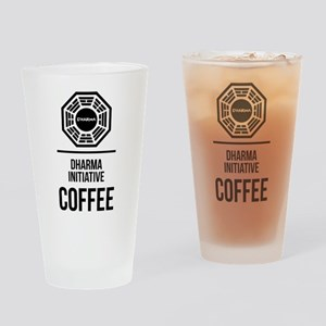 Lost Dharma Initiative Coffee Drinking Glass