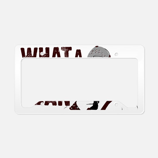 HumungusSkuffd License Plate Holder