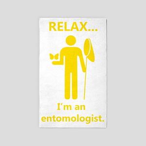 2-relax I am an entomologist_man_ye 3'x5' Area Rug