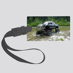 TUNDRAS DAY OUT Large Luggage Tag