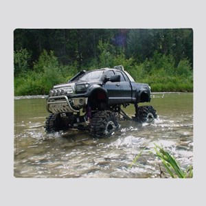 TUNDRAS DAY OUT Throw Blanket