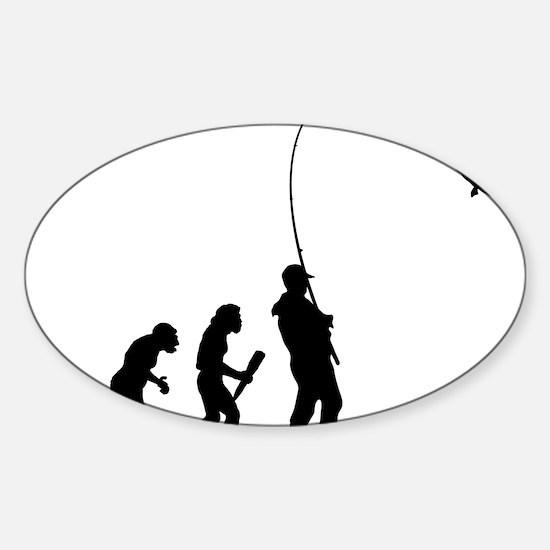 Fishing 01 Sticker (Oval)