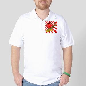 grunge japan sax Golf Shirt