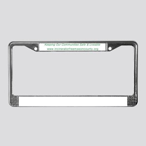 IFMCTag w url TRANS License Plate Frame