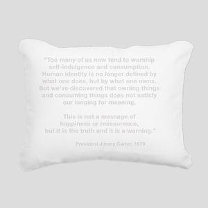carterW Rectangular Canvas Pillow