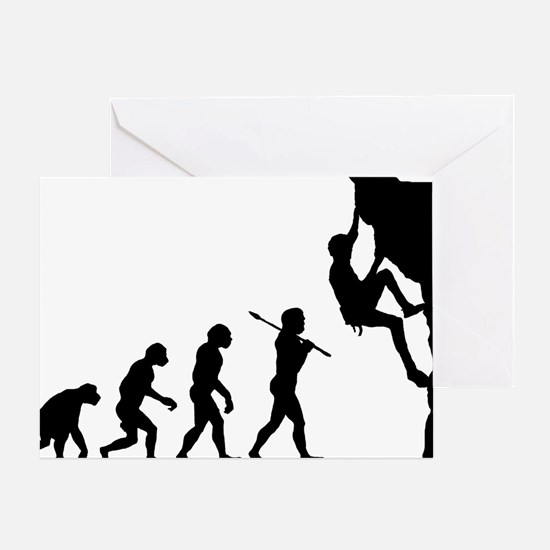 Rock Climbing 5 Greeting Card