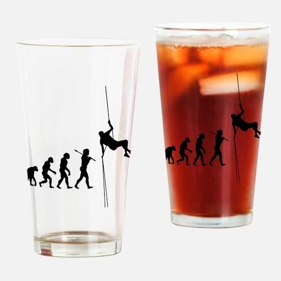 Rock Climbing 1 Drinking Glass