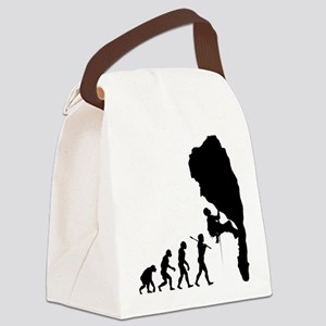 Rock Climbing 11 Canvas Lunch Bag