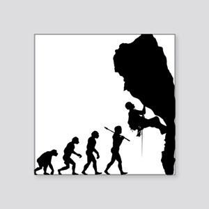 "Rock Climbing 11 Square Sticker 3"" x 3"""