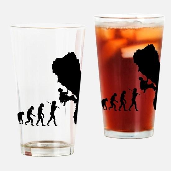 Rock Climbing 11 Drinking Glass