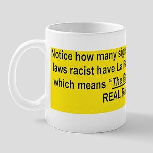 WHO ARE THE REAL RACISTS... Mug