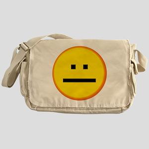 Serious Face Messenger Bag