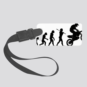 Motocross C Small Luggage Tag