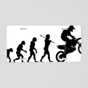 Motocross C Aluminum License Plate