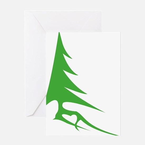 Tree-iso Greeting Card