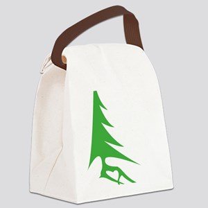 Tree-iso Canvas Lunch Bag