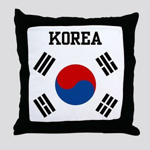 Korea Throw Pillow