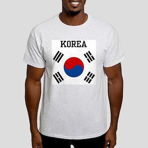 Korea Ash Grey T-Shirt