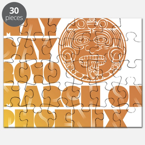 May Day March on Phoenix Puzzle