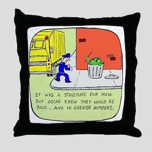 2-oscarcolor Throw Pillow