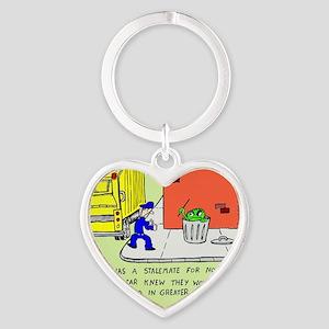 2-oscarcolor Heart Keychain