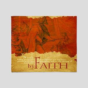 Bag_ByFaith_Noah Throw Blanket