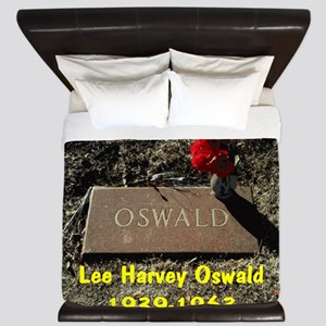 Lee Harvey Oswald 1939-1963(banner) King Duvet