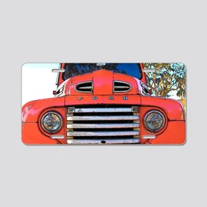 fordctnstraight Aluminum License Plate