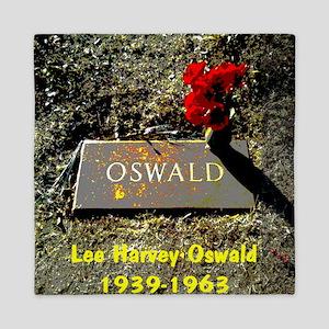 Lee Harvey Oswald 1939-1963(pastel16) Queen Duvet