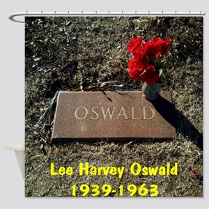 Lee Harvey Oswald 1939-1963(16) Shower Curtain