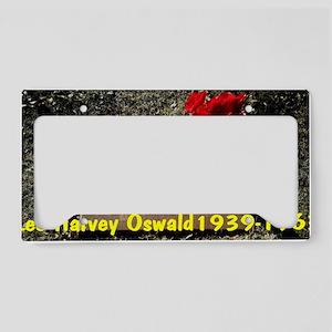 Lee Harvey Oswald 1939-1963(s License Plate Holder