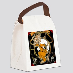 KUNG FU KITTY- Meow  Tiger Canvas Lunch Bag