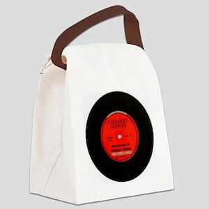 parakeet_lessons Canvas Lunch Bag
