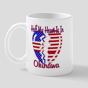 Half my heart is in Okinawa Mug