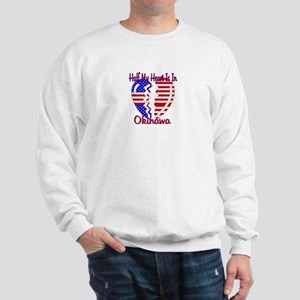 Half my heart is in Okinawa Sweatshirt