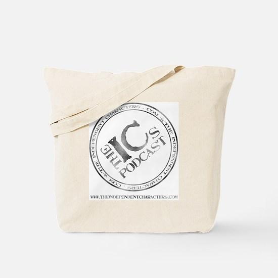 IC Logo Large back Tote Bag