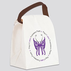 May is Lupus Awareness Month! Canvas Lunch Bag