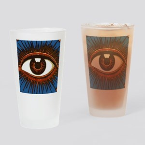 Eye Eyeball Drinking Glass