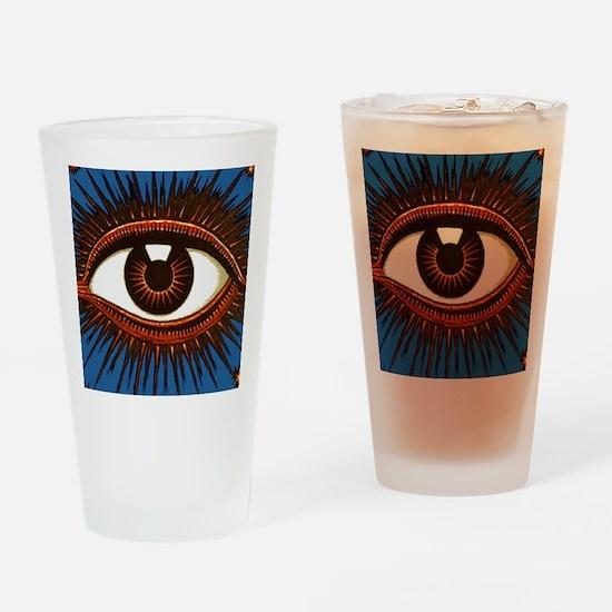 Eye Eyeball Drinking Glass