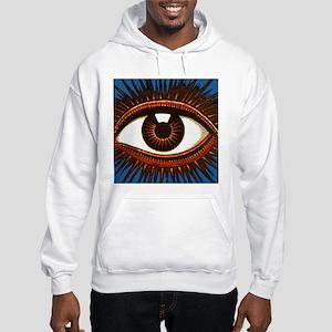 Eye Eyeball Hooded Sweatshirt